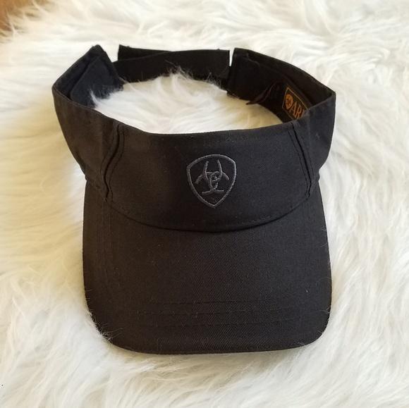 Ariat Accessories - ARIAT Women s Solid Black Visor 0b0f68c9b30
